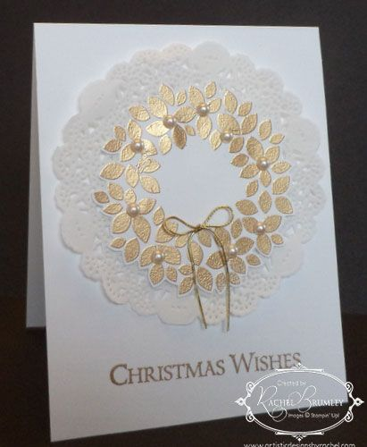 Wondrous Wreath - Stampin' Up!