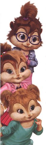 the chipettes - The Chipettes Photo (31980026) - Fanpop