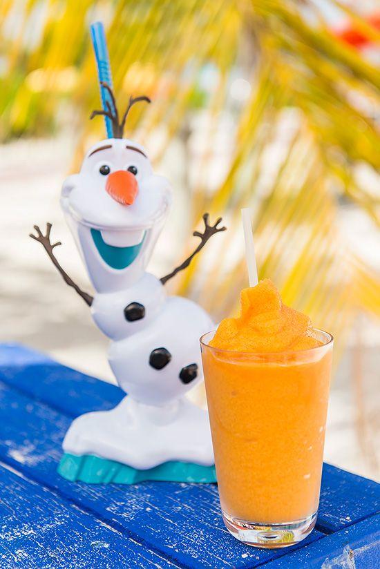 Disney Cruise Line's Summertime Freeze Recipe: Sven's Carrot Delight