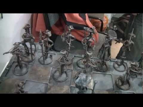 Картины от кузнецов и Шахматы - YouTube
