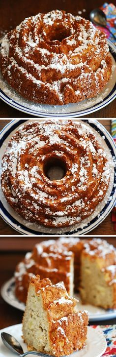 Apple cinnamon buttermilk cake. Perfect coffee cake to have in the morning with a cup of tea or coffee! #Fall #holiday #baking