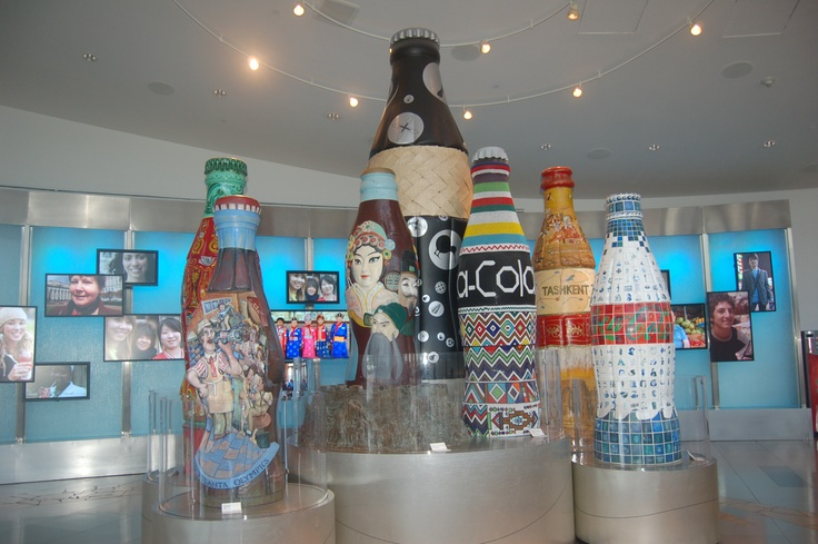 inside the World of Coca Cola. Coke museum. Atlanta GA. USA. photo taken in late July 2011