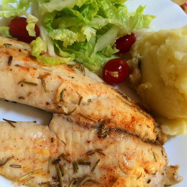 25 melhores ideias sobre receitas de til pia no pinterest for Comida para tilapia
