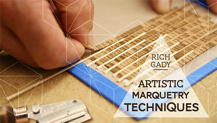 They're here! Online woodworking classes from Craftsy. Sign up for Artistic Marquetry Techniques today to enjoy a $10 discount!