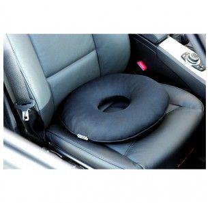 Ce coussin de voiture permet de soulager la zone sensible du coccyx lorsque la position assise est devenue délicate. Coussin à mémoire de forme