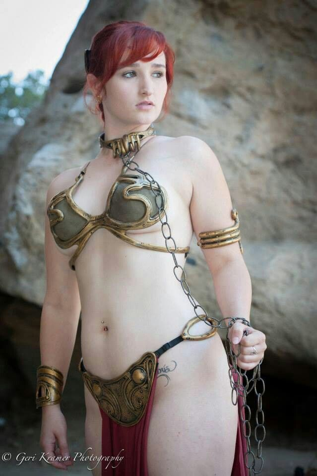 "I'm actually a little conflicted with ""slave Leia"" cosplay. On one hand, I enjoy seeing attractive women with little on. On the other: ""slave""."