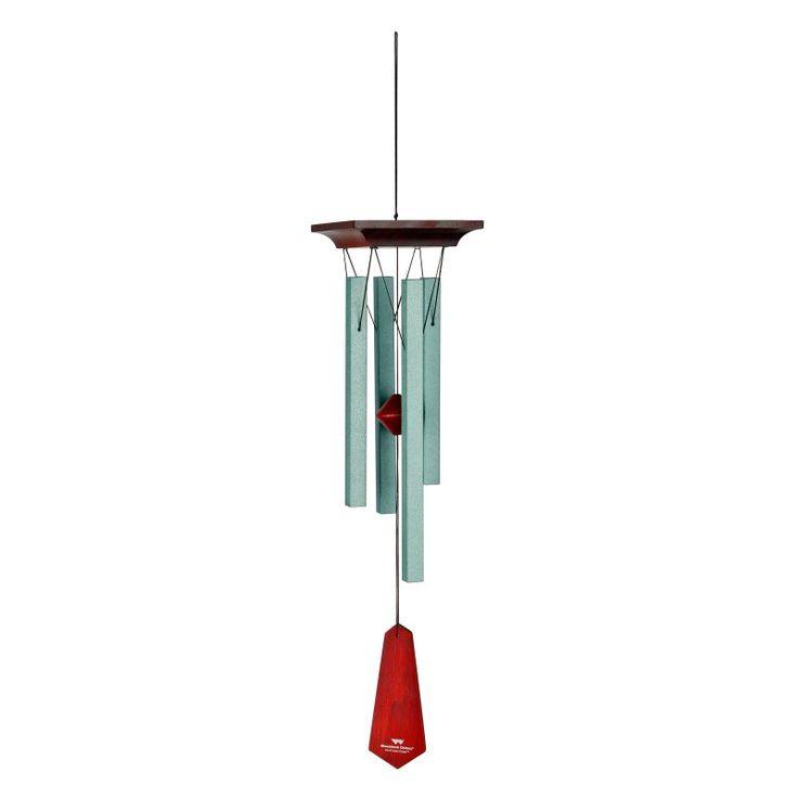 Woodstock Craftsman Wind Chime - Small - Verdigris - CRCVS