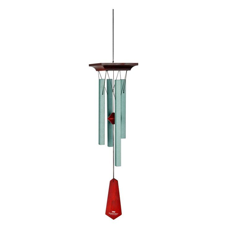 Woodstock Craftsman Wind Chime - Small - Verdigris - CRCVS