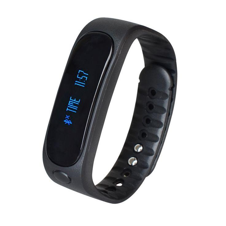 Смарт наручные часы E02 Smartband водонепроницаемый Bluetooth фитнес трекер браслет здоровья спорт браслет передач подходит для android-ios