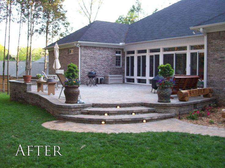 Patio Images best 25+ brick paver patio ideas only on pinterest | paver stone
