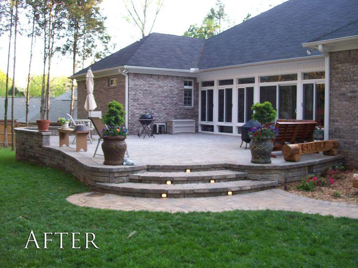 The 25+ best Raised patio ideas on Pinterest | Patio ideas ... on Raised Patio Designs  id=66724