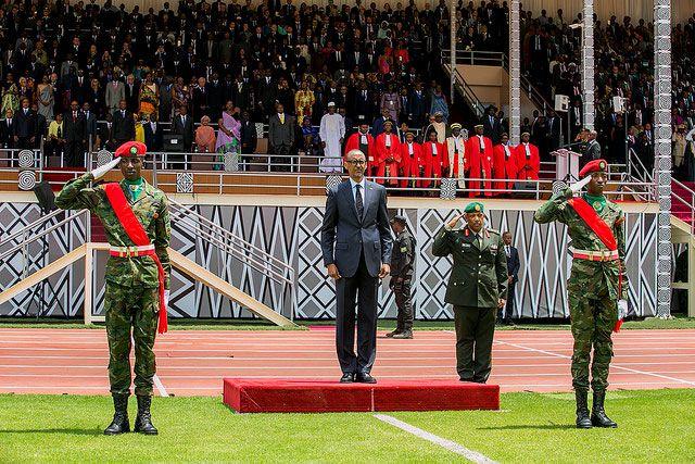 PICTORIAL: Rwanda President Paul Kagame inauguration