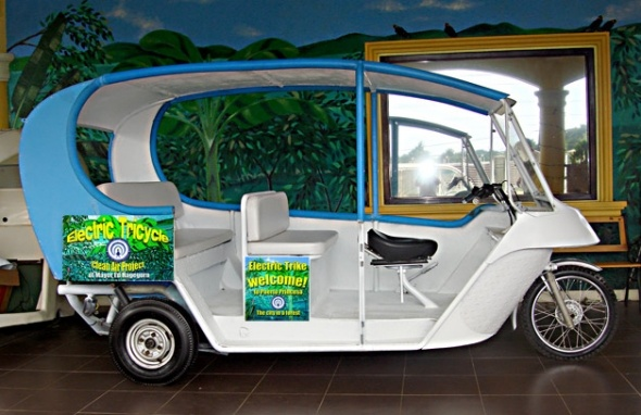 Proposed eTrike for Puerto Princesa. What happened to it?