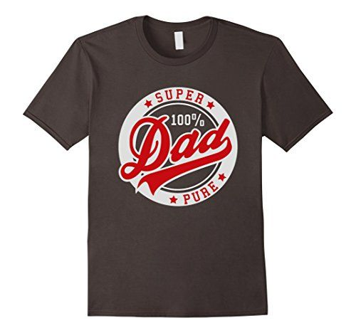 Men's Birthday gifts for dad - super dad 100% T-Shirt 2XL…