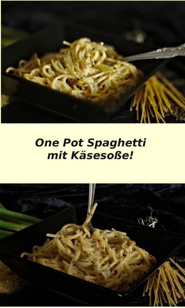 One Pot Spaghetti mit Käse-Sahnesoße! – Preppie and me