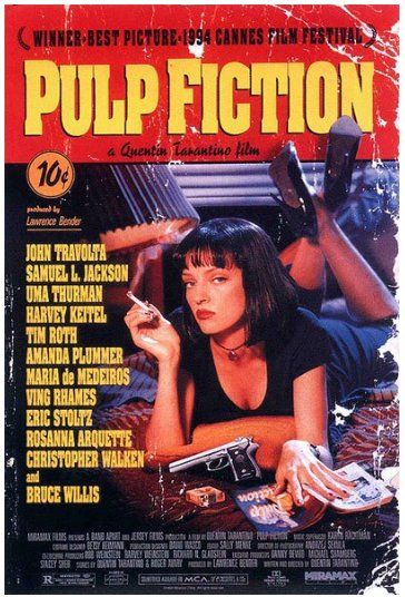 Pulp Fiction - inviati  in Film, Telefilm  e TV: Pulp Fiction è un film del 1994 diretto da Quentin Tarantino, con John Travolta, Uma Thurman, Samuel L. Jackson, Bruce Willis e Tim Roth.La pellicola rilanciò John Travolta, ormai in ombra da anni, e consacrò la giovane e già quotata Uma Thurman. Le interpretazioni di entrambi meritarono una candidatura allOscar rispettivamente per miglior attore protagonista e miglior attrice non protagonista. Anche Samuel L. Jackson...