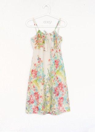 Kup mój przedmiot na #vintedpl http://www.vinted.pl/damska-odziez/letnie-sukienki/20838133-pastelowa-kolorowa-kwiecista-sukienka-mgielka