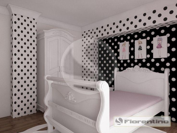 Meble dla dzieci, meble dla młodzieży i łóżka dla dziecka – meble dla dziewczynki   Fiorentino Exclusive 802