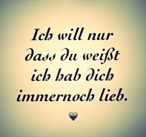Ich will nur, dass du weißt, ich hab dich immernoch lieb. Philipp Poisel