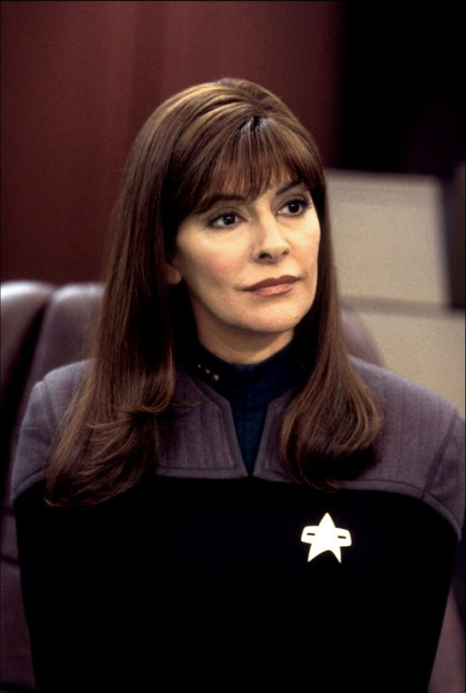 Star Trek : Nemesis - The lovely  Marina Sirtis as Counselor Deanna Troi.