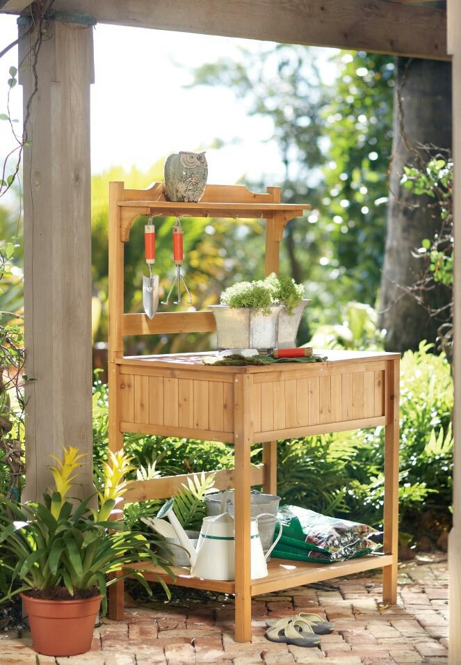Best 20 Garden Work Benches Ideas On Pinterest Potting Station Garden Table And Potting
