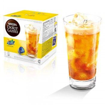 Nestea al Limone - Bevande fresche in capsula - NESCAFÉ® Dolce Gusto®. Nestea® Lemon è un tè freddo sorprendente: tutto il gusto del tè al limone in un'unica capsula. Un nuovo modo di bere il tè freddo! Senza glutine. Acquistala qui: https://www.dolce-gusto.it/capsule/nestea-limone