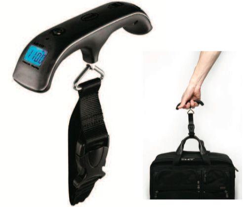 Báscula digital para maletas