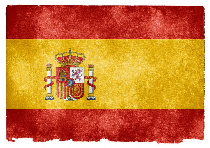 Mediterranean Living  Serafini Amelia  Spain Flag