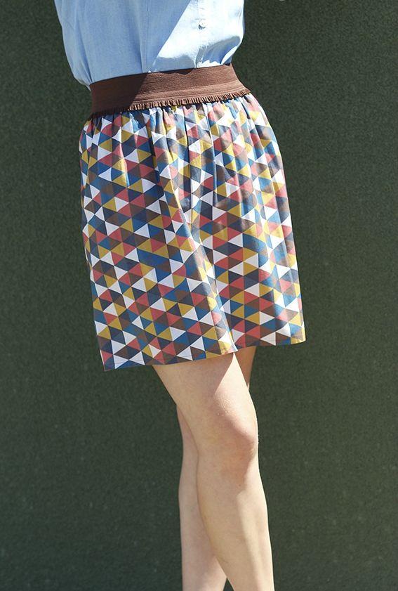 Les 25 meilleures id es de la cat gorie tuto jupe sur pinterest couture patron couture facile - Tuto jupe facile elastique ...