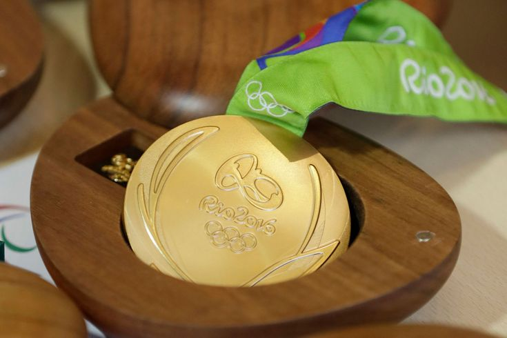 Olympic Medals From Rio 2016 Are Falling Apart