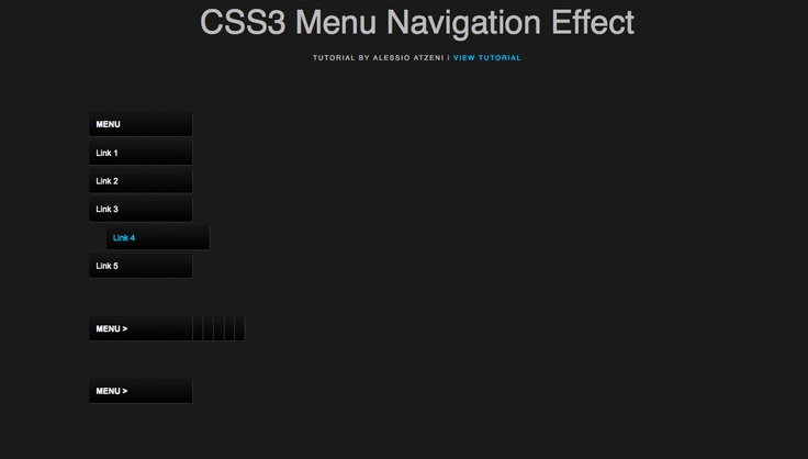 We are going to see how to play nice effects without the use of jQuery. I remember this tutorial works perfectly on all browsers except Internet Explorer for the first two examples, while the last example will only be visible in Firefox, Safari and Chrome because it uses the CSS3 Animation Property.