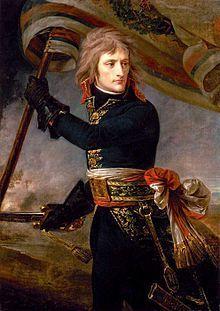 Napoleone al ponte di Arcole, Antoine-Jean Gros, 1801