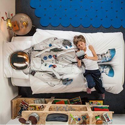 Snurk Astronaut Single Bed Duvet Cover Set – Kiitos living by design
