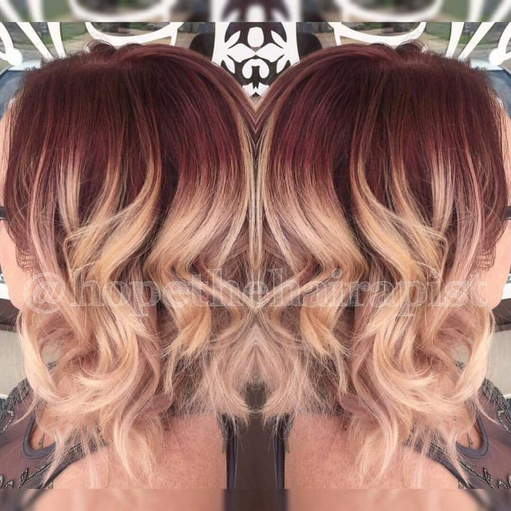 Vanity Hair Salon In Alton Mo Red Violet Shadow Root In