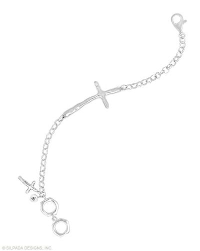 A reminder to never lose sight of what's most important to you. Toggle Clasp.