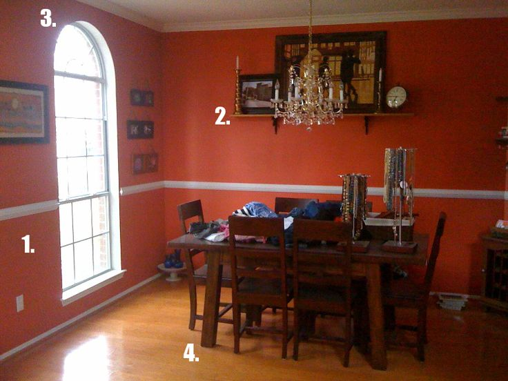 1000 images about house on pinterest orange walls