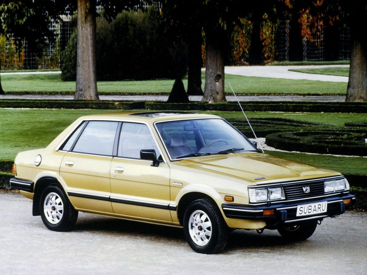 Subaru 1800 Sedan 4wd Ab 1983 85 スバル 車