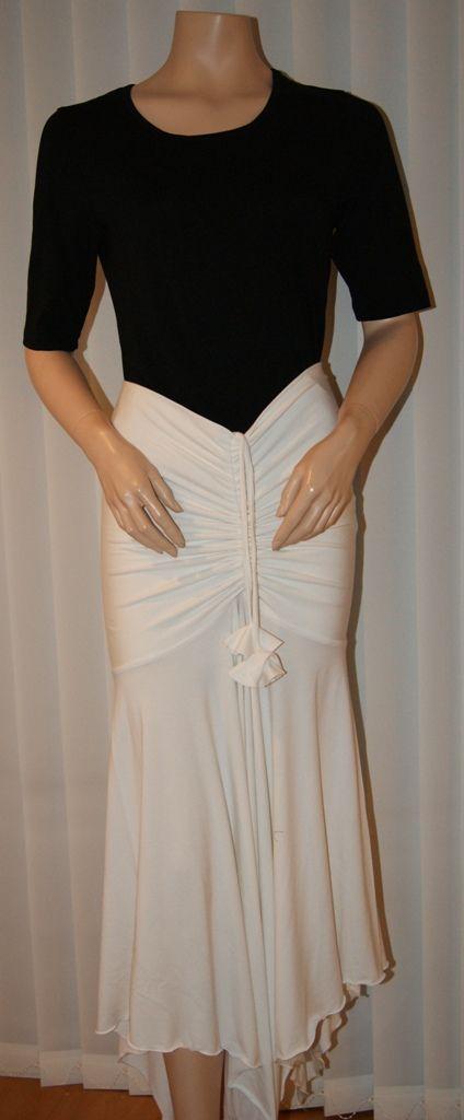 as a long skirt