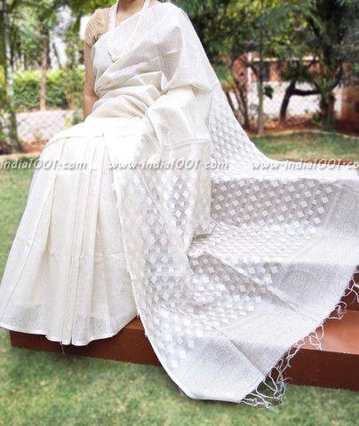 Elegant and Fine Munga Silk Saree