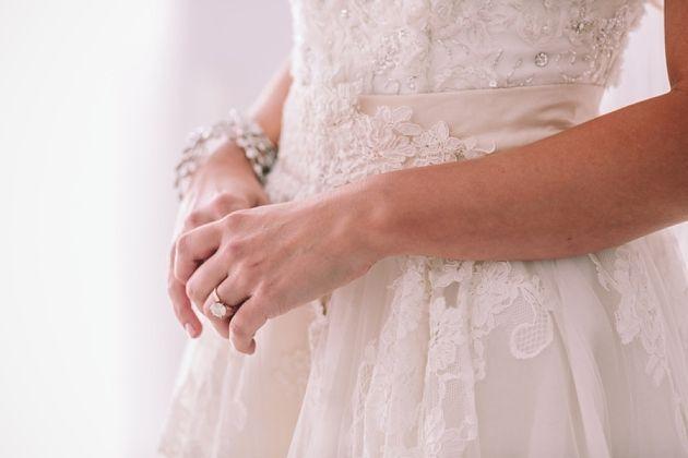 Martina Liana Wedding Dress - Santorini - Greece Wedding by Stella & Moscha
