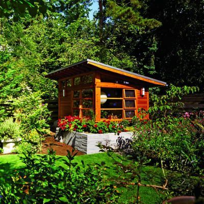 19 favorite garden cottages & shedsCreative ideas for backyard retreats, detached home offices, and reinvented sheds