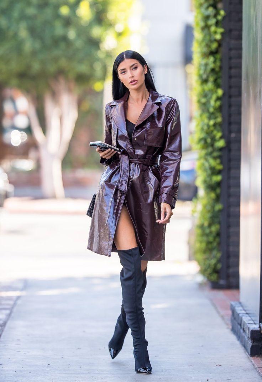 Nicole Williams Street Style Wearing The Adonia Vinyl
