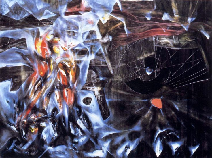 Disasters of Mysticism by Roberto Matta