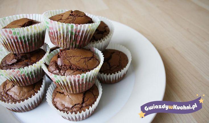 Muffinki brownie #muffiny #brownie #czekolada