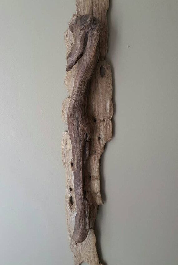 Driftwood Wall Art Driftwood Wall Hanging by TheCharmedCove