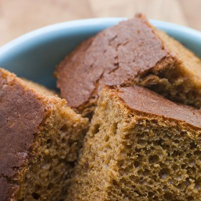 Ginger Parkin cake - A classic ginger cake which makes the perfect Bonfire Night or afternoon tea treat. Make it in advance so that the cake becomes moist and sticky.