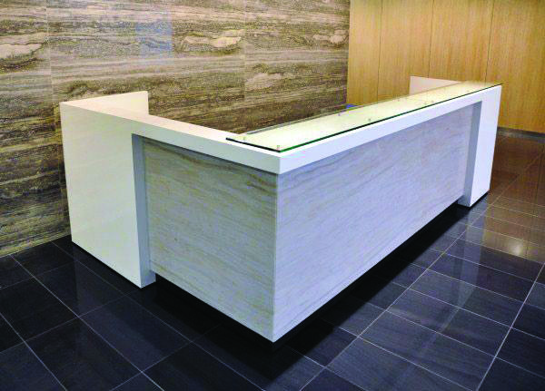 Trendy Dimensions Of Reception Desk That Look Beautiful Custom Reception Desk Reception Desk Modern Reception Desk