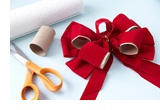 Cut up paper towel rolls and place in bows for storage- it will help them keep their shape!  : Diy Ideas, Wrapping Paper, Paper Towel Rolls, Place, Lift Ideas, Party Ideas, Paper Towels