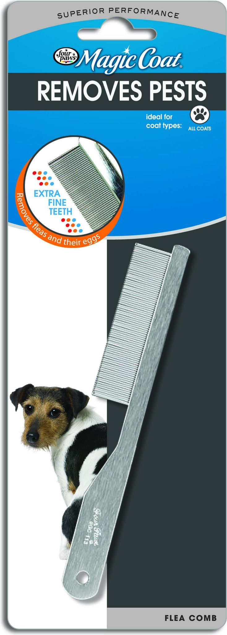 Magic Coat Flea Comb For Extra Fine Coats