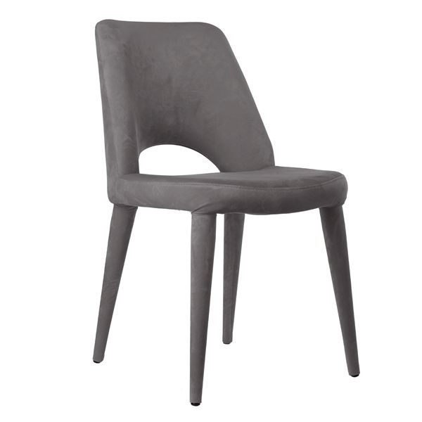 Welcome to the Pols Potten webshop and catalogue - Product Portfolio > furniture > chairs > - > Chair Holy velvet grey